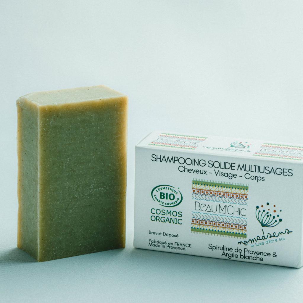 Cosmétique 100% natuel et bio Shampooing solide bio
