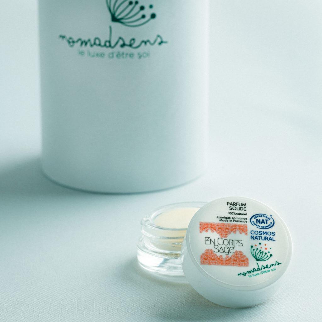 Cosmétique 100% natuel Parfum solide Parum 100% naturel
